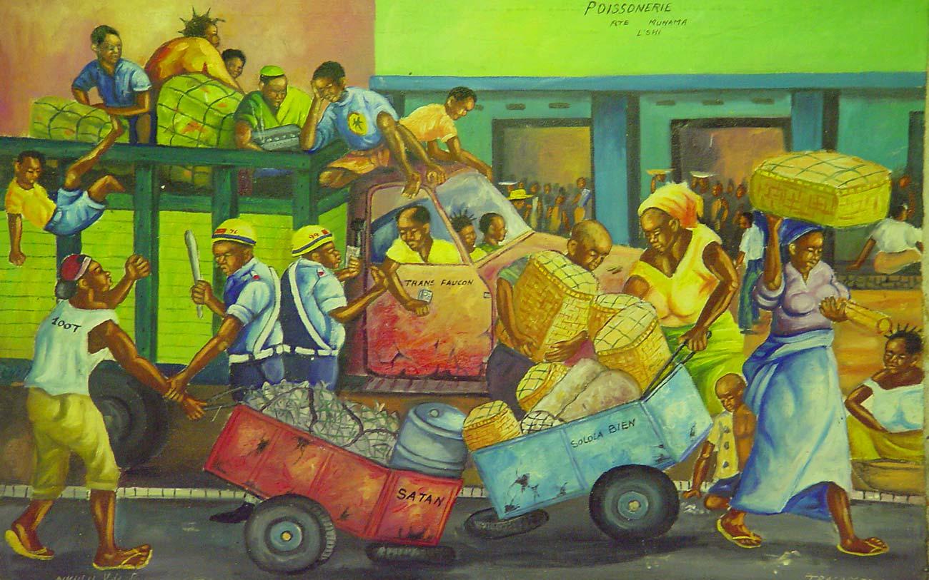 Congo Art Pop è una collezione di arte popolare congolese