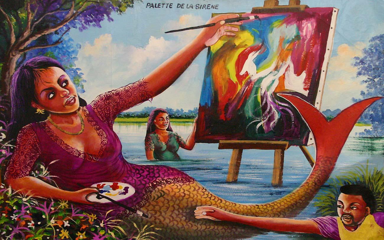 Congo Art Pop è una raccolta di 2000 opere di arte popolare del Congo a cura della Università della Calabria